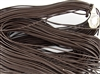 1.5mm Premium Greek Leather Cord - 5 Yards - Brown