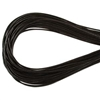 1.5mm Premium Greek Leather Cord - 5 Yards - Dark Brown