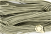 1.5mm Premium Greek Leather Cord - 5 Yards - Grey