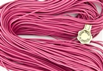 1.5mm Premium Greek Leather Cord - 5 Yards - Pink