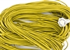 1.5mm Premium Greek Leather Cord - 5 Yards - Yellow