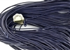 1.5mm Premium Greek Leather Cord - Sold by 1 Yard / 3 Feet - Dark Blue