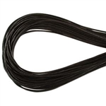 1.5mm Premium Greek Leather Cord - Sold by 1 Yard / 3 Feet - Dark Brown