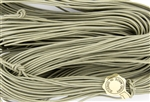 1.5mm Premium Greek Leather Cord - Sold by 1 Yard / 3 Feet - Grey
