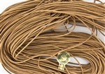 1.5mm Premium Greek Leather Cord - Sold by 1 Yard / 3 Feet - Natural