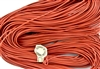 1.5mm Premium Greek Leather Cord - Sold by 1 Yard / 3 Feet - Salmon