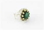 Limited Edition Bead Embroidery Ring Kit - Emerald City - Malachite