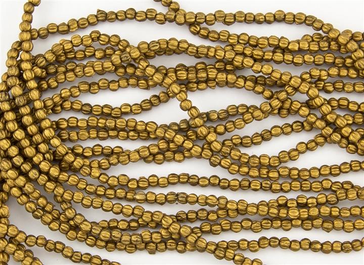 Matte Metallic Antique Gold
