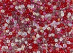 3.4mm Drop Miyuki Japanese Seed Beads - Strawberry Fields Mix