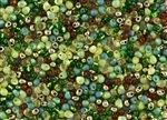 3.4mm Drop Miyuki Japanese Seed Beads - Earthtones Mix