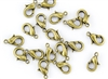 Lobster Claws Clasps 13mm - Antique Brass