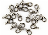 Lobster Claws Clasps 13mm - Gun Metal