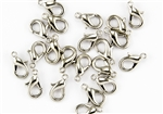 Lobster Claws Clasps 13mm - Nickel