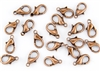 Lobster Claws Clasps 15mm - Antique Copper
