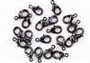 Lobster Claws Clasps 15mm - Hematite Gun Metal
