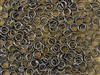Split Ring Rings 5mm 24G - Gun Metal Grey Hematite Metallic