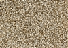 15/0 Miyuki Japanese Seed Beads with Czech Coating - White Opaque Celsian Matte