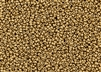 15/0 Miyuki Japanese Seed Beads with Czech Coating - Aztec Gold Metallic Matte