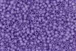 8/0 Matsuno Japanese Seed Beads - Milky Light Purple Frosted #F222