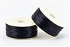 Nylon Nymo Beading Thread 64 Yard Bobbin Size D - BLACK