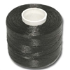 Nylon Nymo Beading Thread 250 Yard Large Bobbin Size D - BLACK