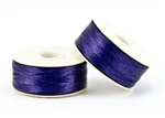 Nylon Nymo Beading Thread 64 Yard Bobbin Size D - DARK PURPLE