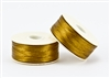 Nylon Nymo Beading Thread 64 Yard Bobbin Size D - GOLD