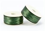 Nylon Nymo Beading Thread 64 Yard Bobbin Size D - GREEN