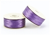 Nylon Nymo Beading Thread 64 Yard Bobbin Size D - LT PURPLE