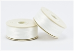 Nylon Nymo Beading Thread 64 Yard Bobbin Size D - WHITE