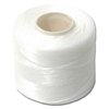 Nylon Nymo Beading Thread 250 Yard Large Bobbin Size D - WHITE