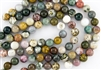 14mm Natural Ocean Jasper Gemstone Round Beads