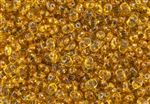 SuperDuo 2/5mm Two Hole Czech Glass Seed Beads - Topaz Transparent SD806