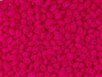 SuperDuo 2/5mm Two Hole Czech Glass Seed Beads - Neon Pink Matte SD889