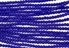 Strand of Sea Glass 4mm Round Beads - Cobalt Blue