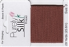 Purely Silk Beading Thread - Size E - Brown
