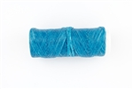 35 Yards of Artificial Sinew 60LB Test - Vibrant Turquoise