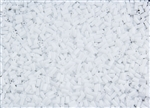 #1 Bugle 3mm Japanese Toho Glass Beads - White Opaque #41