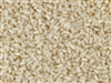 #1 Bugle 3mm Japanese Toho Glass Beads - Cream Opaque Luster #123