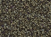 #1 Bugle 3mm Japanese Toho Glass Beads - Brown Iris Metallic Matte #614