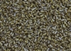 #1 Bugle 3mm Japanese Toho Glass Beads - Hybrid Grey Picasso Opaque #Y312