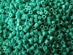 2mm Japanese Toho Cube Beads - Turquoise Opaque #55