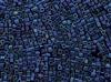 2mm Japanese Toho Cube Beads - Blue Iris Metallic #88