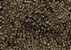 2mm Japanese Toho Cube Beads - Olive Brown Iris Metallic Matte #702