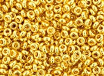 6/0 Demi Round Toho Japanese Seed Beads - 24K Gold Plated #712
