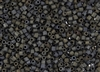 8/0 HEX Japanese Toho Seed Beads - Iris Brown Metallic Matte #83F