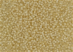 11/0 Takumi Toho Japanese Seed Beads - Custard Cream Lined Crystal #352