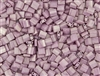 Miyuki Tila 5mm Glass Beads - Opaque Antique Rose Luster #TL599