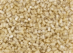 Miyuki Half Tila Bricks 2.5x5mm Glass Beads - Light Caramel Ceylon #TLH593