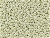3MM Magatama Toho Japanese Seed Beads - Light Cream Opaque Luster #122